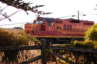 Mendocino Skunk Train Lodging Package